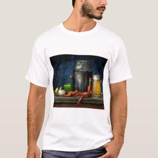 T-shirt d'écrevisses et de bière