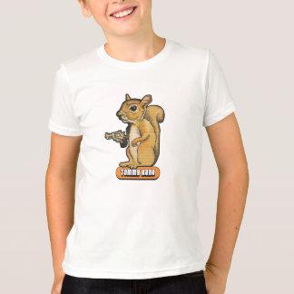 T-shirt d'écureuil d'enfants
