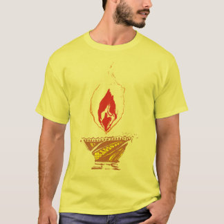 T-shirt Deepak : Lampe de Diwali
