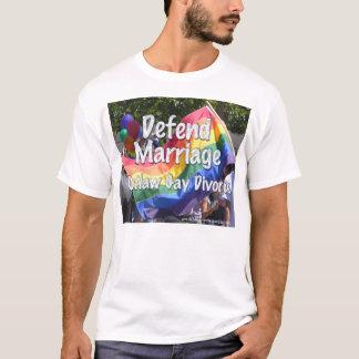 T-shirt Défendez le mariage
