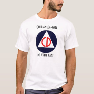 T-shirt Défense civile