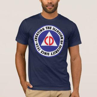 T-shirt Défense civile - 'enhanced
