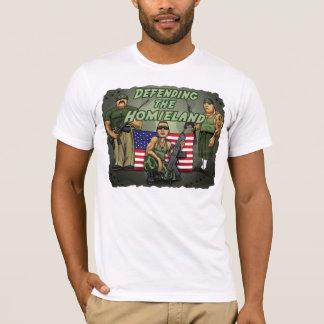 T-shirt Défense du Homieland