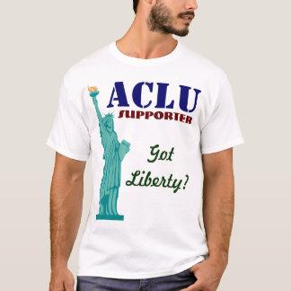 T-shirt Défenseur d'ACLU