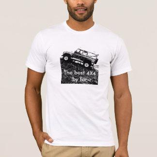 T-shirt Défenseur de Land Rover. Le meilleur de loin