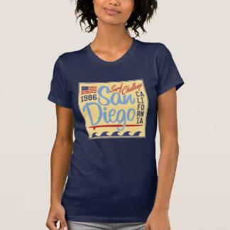 T-shirt Défi 1986 de surf de San Diego