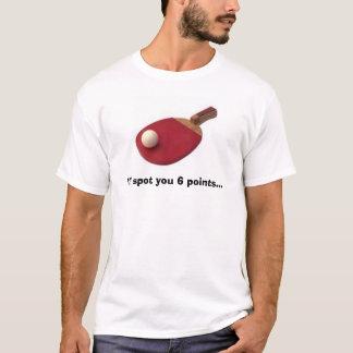 T-shirt Défi de ping-pong