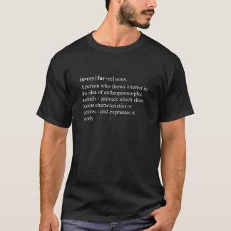 T-shirt Définition de dictionnaire velue