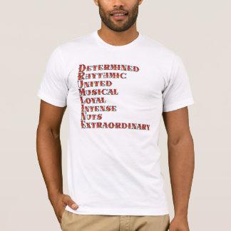 T-shirt Définition de Drumline