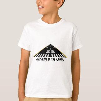 T-shirt Dégagé pour débarquer la piste
