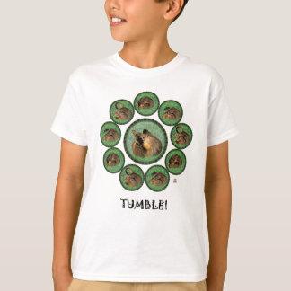 T-shirt Dégringolade ! (anneau de chat)
