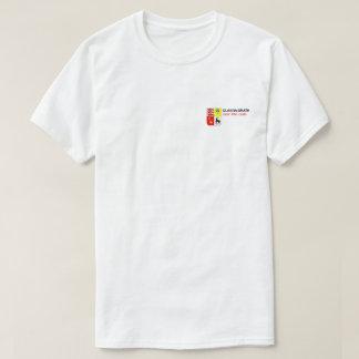 T-shirt dégrossi d'impression de McGrath de clan