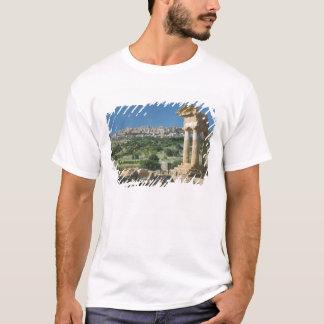 T-shirt Dei Templi de l'Italie, Sicile, Agrigente, Valle