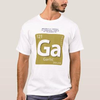T-shirt d'élément d'ail