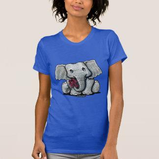 T-shirt d'éléphant de KiniArt
