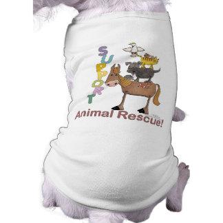 T-shirt Délivrance animale de soutien