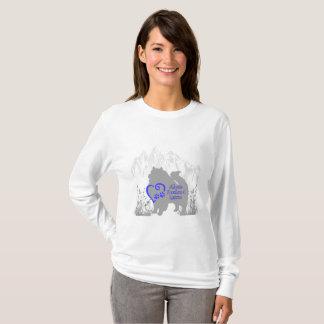 T-shirt Délivrance de Keeshond d'Alberta - royale