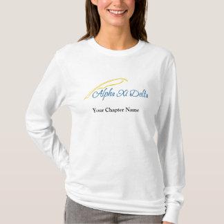 T-shirt Delta de l'alpha XI avec la cannette