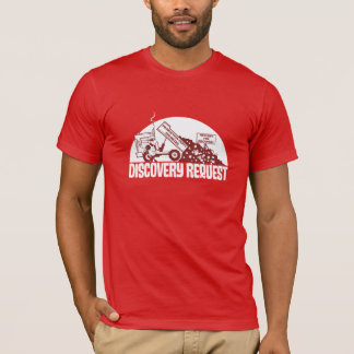 T-shirt Demande de découverte