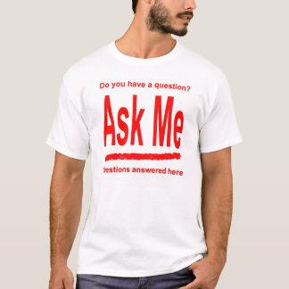 T-shirt Demandez-moi la chemise rouge