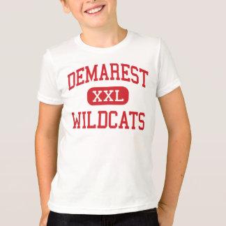 T-shirt Demarest - chats sauvages - milieu - New Jersey de