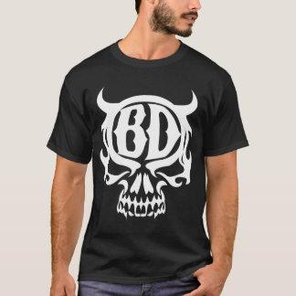 T-shirt d'emblème de Blanco Diablo