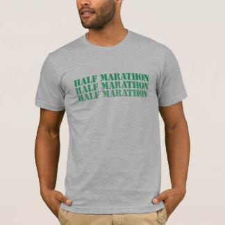T-shirt Demi de chemise de marathon