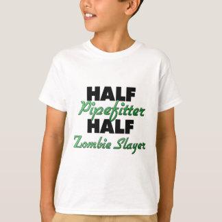 T-shirt Demi de demi de tueur de zombi de Pipefitter