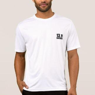 T-shirt Demi de finisseur de marathon - noir