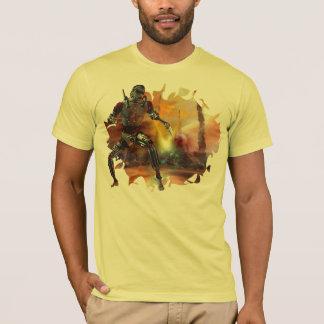 T-shirt Demi de machine de demi d'homme