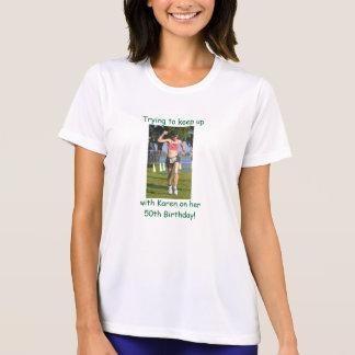 T-shirt Demi de marathon de C.C