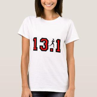 T-shirt Demi de marathon des femmes