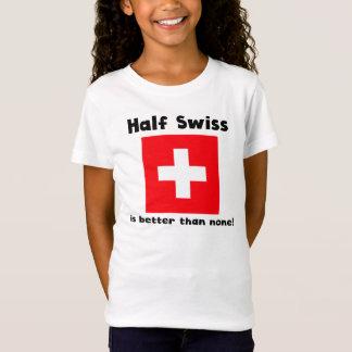 T-Shirt Demi de Suisse