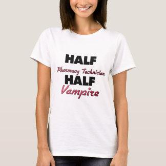 T-shirt Demi de vampire de demi de technicien de pharmacie