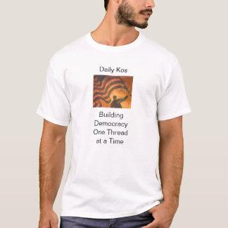 T-shirt Démocratie de bâtiment