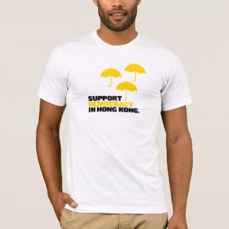 T-shirt Démocratie de soutien à Hong Kong