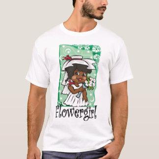 T-shirt Demoiselle de honneur avec le voile