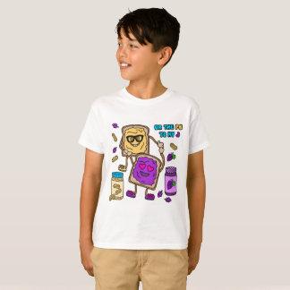 T-shirt d'Emoji de beurre et de gelée d'arachide