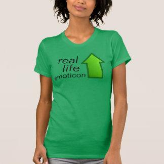 T-shirt d'emoji de l'IRL