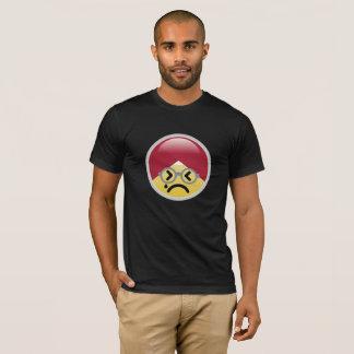 T-shirt d'Emoji de turban de sueur froide de Dr.