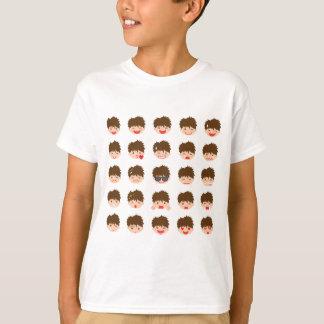 T-shirt d'Emojis de 25 garçons