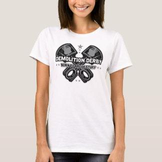 T-shirt Démolition Derby soutenu pour casser la substance