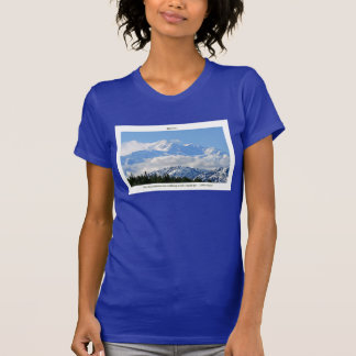 T-shirt Denali/Mtns appellent-j Muir/avec la frontière