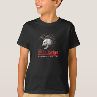 T-shirt d'enfant de règne de Blak