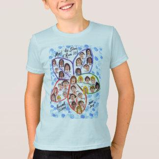 T-shirt d'enfant de volontés