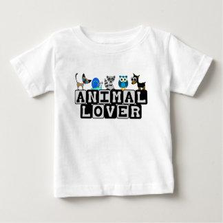T-shirt d'enfant en bas âge d'amoureux des animaux