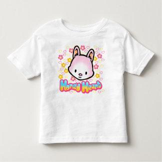 T-shirt d'enfant en bas âge de coeur de miel
