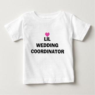 T-shirt d'enfant en bas âge de coordonnateur de