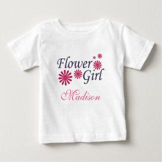 T-shirt d'enfant en bas âge de demoiselle de