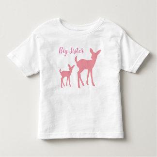 T-shirt d'enfant en bas âge de grande soeur